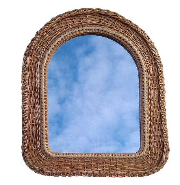 Зеркало овально-прямоугольное