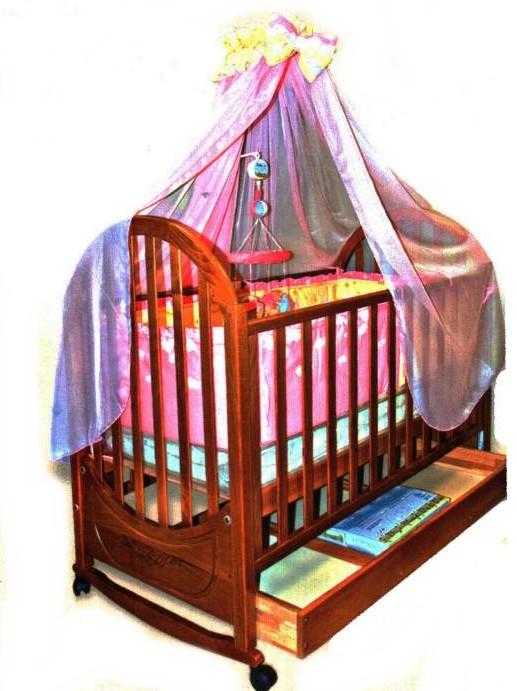 """Кроватка детская деревянная """"Юлия"""""""
