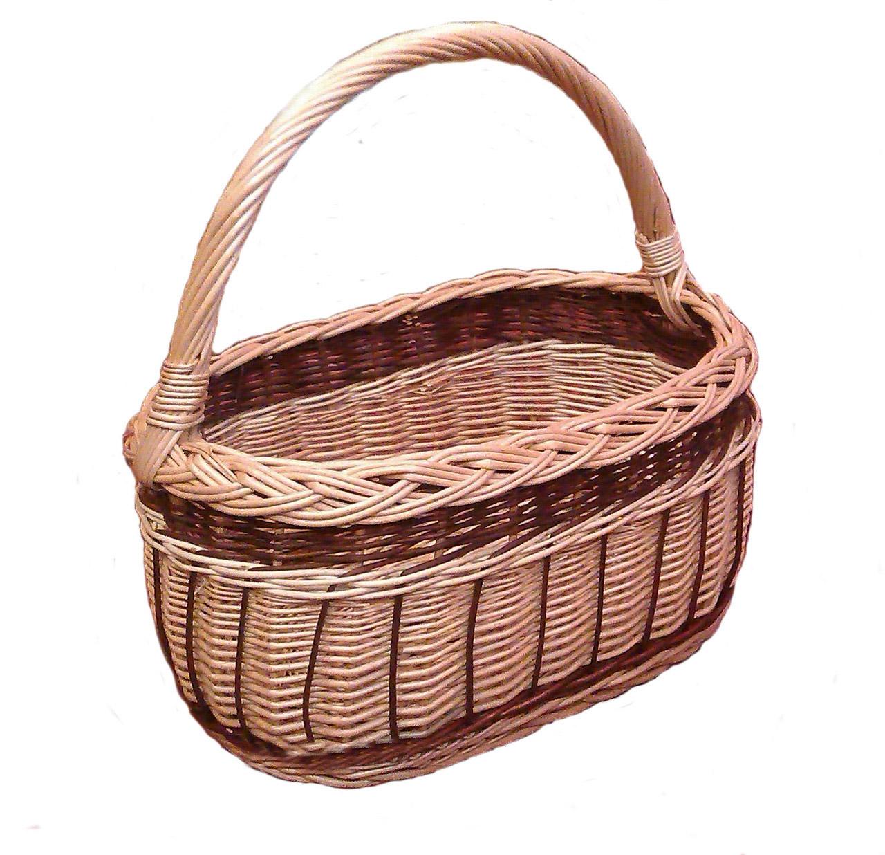 Корзинка плетеная из лозы для ягод